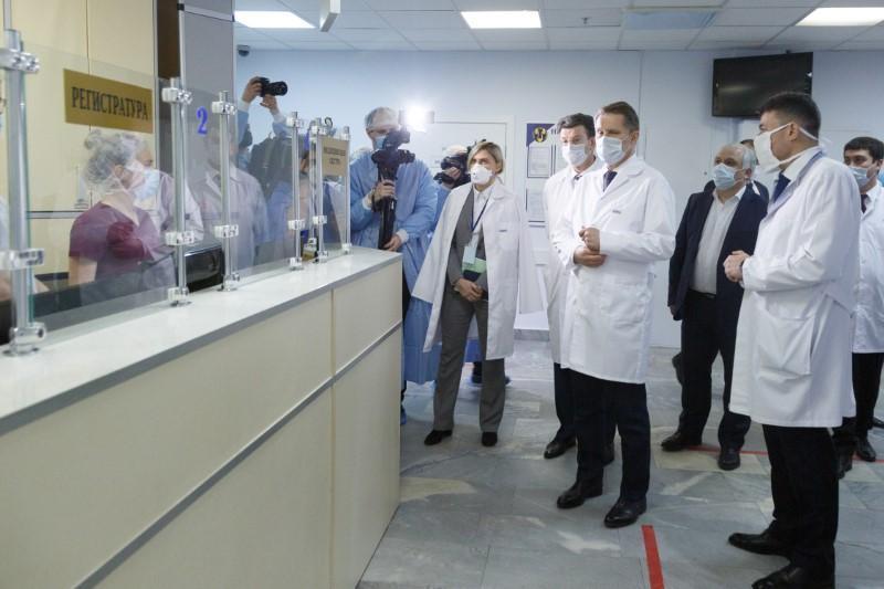 Открытие центра для приема онкобольных с коронавирусной инфекцией