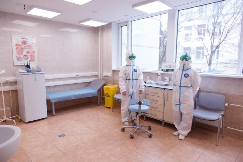 Кабинет осмотра пациентов