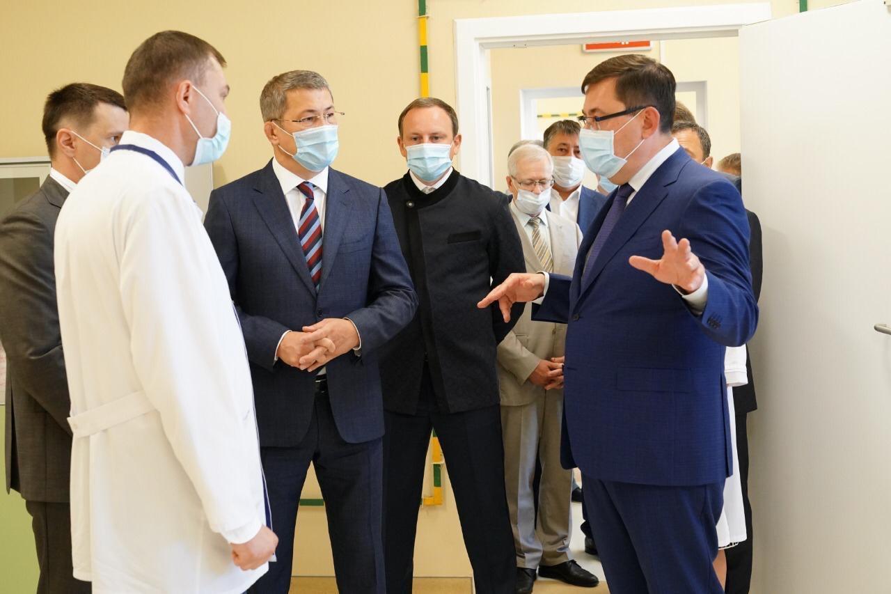 Новый корпус Республиканского онкологического диспансера открылся в Уфе