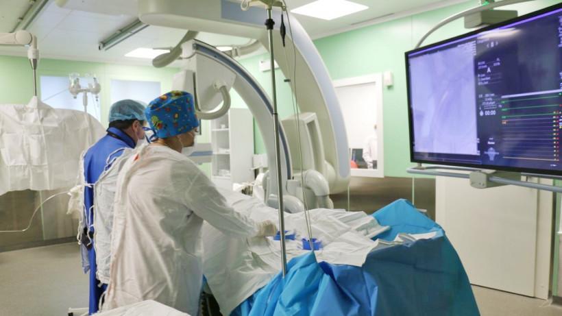 Отделение рентгенохирургических методов лечения в Московском областном онкодиспансере