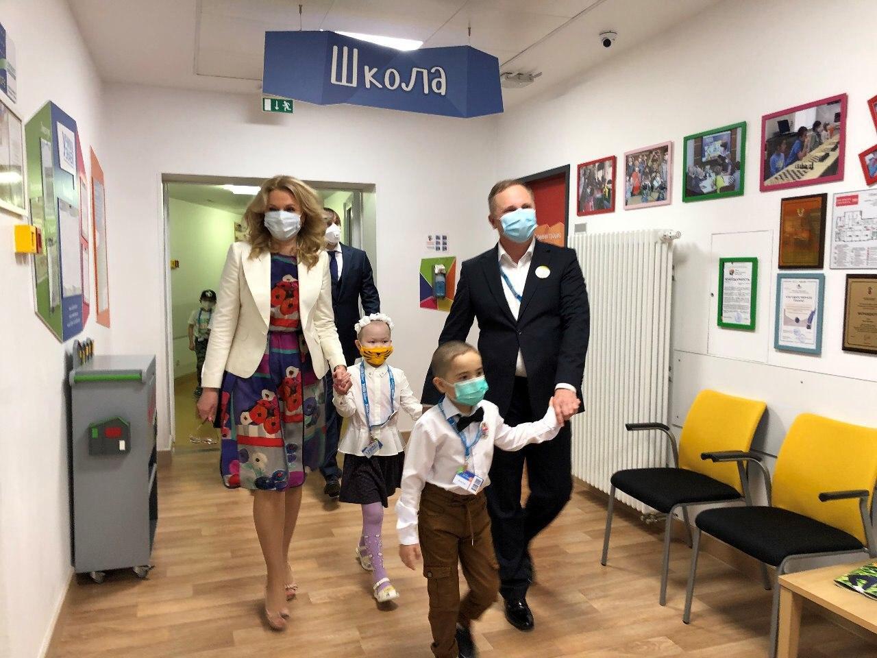Заботливая школа открыла свои двери для детей центра Дмитрия Рогачева